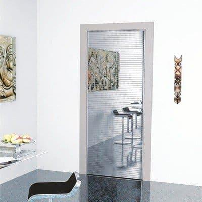 Межкомнатная дверь Grafika Modern в интерьере
