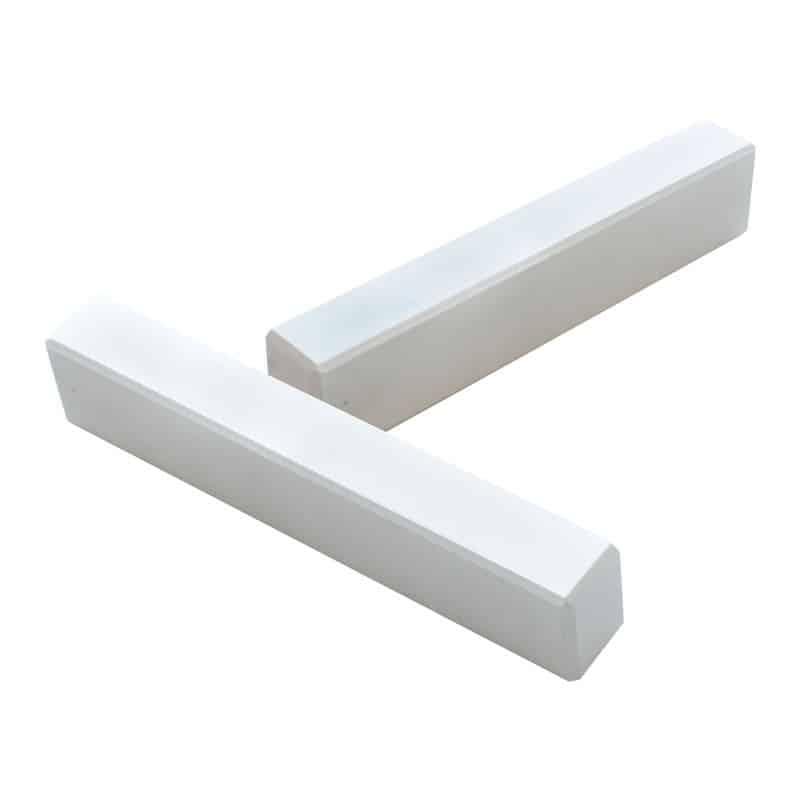 Дверная ручка REZIDENT LD-SCHFERSBUSCH-01 в белом цвете