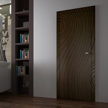 Межкомнатная дверь Deep Lines Canvas