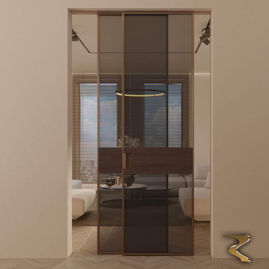 Межкомнатные двери и перегородки Limerence Wood Rezident Design